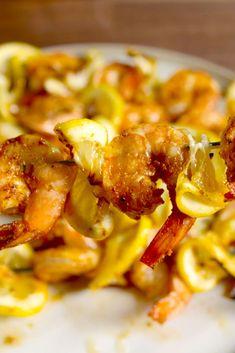 Kebab recipes, grilling recipes, fish recipes, seafood recipes, low carb re Kebab Recipes, Grilling Recipes, Fish Recipes, Seafood Recipes, Paleo Recipes, Dinner Recipes, Cooking Recipes, Clam Recipes