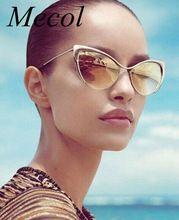 2016 мода металл супер милые дамы солнцезащитные очки Cat Eye солнцезащитные очки женщины ретро Gafas óculos masculino YJ011(China (Mainland))