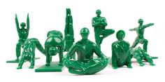 Amazon.com: Yoga Joes - Green Army Men Toys: Toys & Games