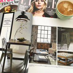 """Coffee break! Did you know that Bouclair has great selection of furniture - """"atelierBouclair""""? I am so pleasantly surprised! If you know Urban Barn style so this one is very close. Go check it out if you on ahunt for a furniture they have some good deals now. #bouclair #atelierbouclair #shopping #shopaholic #furniture #coffee #coffeetime #coffeebreak by lo_u_ve"""