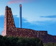 Dutch architect Erick Van Egeraat created an iconic, glowing Energy Tower to power Roskilde from local rubbish.