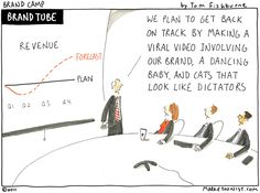 'Viral video' a marketoon by Tom Fishburne