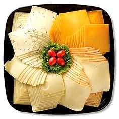 Meat and Cheese Platters. Perfect for those company or holiday parties. Meat Cheese Platters, Meat Trays, Food Platters, Finger Food Appetizers, Appetizer Recipes, Deli Tray, Plateau Charcuterie, Catering Food, Catering Display
