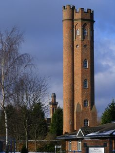 The Twin Towers, of Perrott's Folly (by R J Higginson) Tolkiens inspiration of the Two Towers