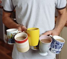 Your mug-holding is not optimised to prevent spills. Apparently.