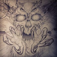 68 Ideas Tattoo Designs Men Drawings Dads For 2019 - Eulen - tattoo Diskrete Tattoos, Tattoo P, Money Tattoo, Tattoo Hals, Wolf Tattoos, Skull Tattoos, Body Art Tattoos, Sleeve Tattoos, Throat Tattoo
