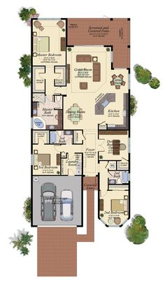 Chandon floor plan at Marbella Isles in Naples FL.  www.christinecitrano.com