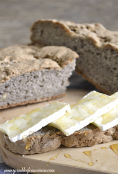 Buckwheat bread with walnuts