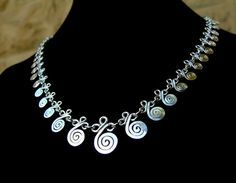 egyptian coil wire jewelry - Google Search