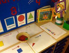 Maths interactive display - 2D shapes