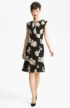 Tracy Reese Silk Dress. I really haven't met a rose print I didn't like. Especially in black and white.
