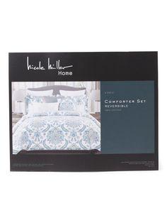 Option for Basement Guest Room 6pc Lennard Comforter Set - Comforters & Duvets - T.J.Maxx