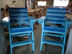 lifeguard chairs Lifeguard Chair, Wood Patio Furniture, Outdoor Chairs, Outdoor Decor, Custom Wood, Furniture Making, Home Decor, Decoration Home, Room Decor