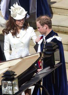 Kate Middleton - The Garter Ceremony at Windsor Castle