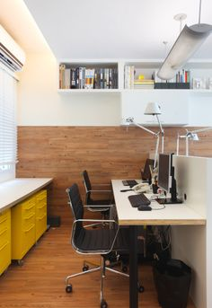 Escritório Paula Neder Arquitetos Associados #office #workspace