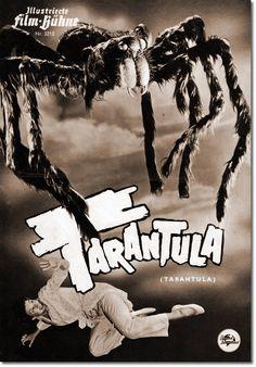 Tarantula (wie im Original) ist ein US-amerikanischer Science-Fiction-Horror-Thriller in Schwarz-Weiß aus dem Jahr 1955, in dem John Agar, unter der Regie von Jack Arnold die Hauptrollen spielten. Obwohl es sich bei Tarantula um ein typisches B-Movie handelt, erlangte der Film ist Kultstatus. Illustrierte Film-BühneDie Illustrierte Film-Bühne (IFB) wurde 1946 in München von dem Verleger Paul Franke gegründet. Mit der Nr. 8069 wurde 1969 die letzte Ausgabe produziert.