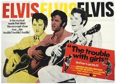 """""""The Trouble With Girls"""" makes absolutely no sense as a title for this movie, but that was inconsequential when MGM wanted to sell a slightly obscure film that was unlikely to turn a profit. So they marketed the star instead and opted for a title that was more akin to the type of movies Elvis had success with some years earlier. With Elvis '69 only suggesting that he was current and very much """"now"""", even if the movie was set in the 1920s.""""/Greystoke/FECC"""