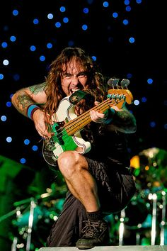 When Steve Harris shoots you, you die...so you can truly live.