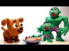 Puppy dog & Hulk family 💕 Funny Play Doh Stop Motion videos Motion Video, Stop Motion, Sand Snowman, Play Doh, Paw Patrol, Hulk, Bowser, Dogs And Puppies, Cartoon