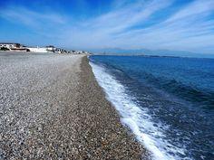 Il mare di tramontana fa bella la spiaggia dei pescatori! Ph. Salvatore Martilotti