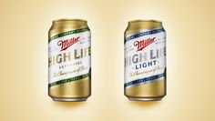 Miller High Life Beer Cans