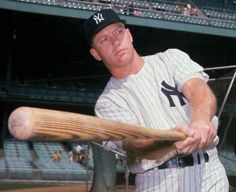 mickey mantle | Mickey Mantle—The Reluctant Hero « Woman Around Town