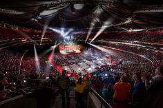 Beginning Wednesday, an estimated 40,000 attendees will gather at the Georgia Dome in Atlanta for Primerica's 2015 Convention. (Photo: Business Wire)