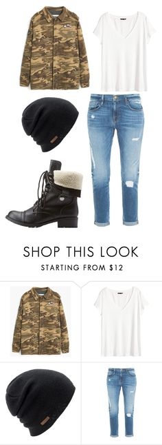 bts run inspired outfit by minhanh-tran on Polyvore featuring H&M, MANGO, Frame Denim, Charlotte Russe and Coal