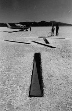 Dissipate by Michael Heizer - Nevada Desert