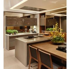 Cozinha por Duda Porto | via @decoramundo