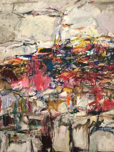 Joan Mitchell - 1955 - City Landscape - Edlis/Neeson Collection - Art Institute of Chicago