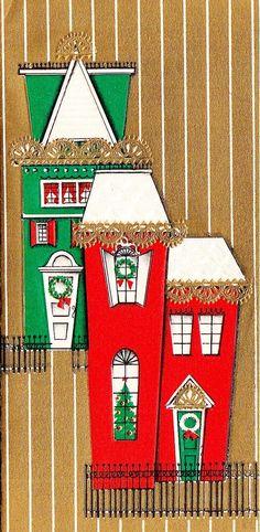 Victorian cribs at Christmas.