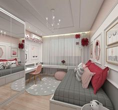 Teen Girl Bedrooms - incredibly super sweet teen girl room tips and tricks. Hungry for other inspiring teen room styling designs please visit the pin to study the post idea 2440572225 immediately Bedroom Decor For Teen Girls, Teenage Girl Bedrooms, Girl Bedroom Designs, Girl Rooms, Design Bedroom, Teen Bedroom Layout, Bedroom Ideas For Small Rooms For Teens For Girls, Bright Bedroom Ideas, Small Teenage Bedroom