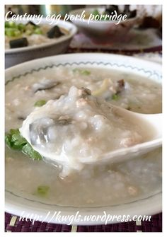 25 traditional chinese dishes everyone should learn to make century egg pork congee pork congee recipechinese menuchinese cuisinechinese forumfinder Gallery