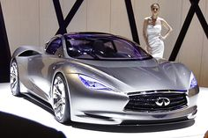 Another gem from the Geneva Auto Show is this new Infiniti hybrid concept car, dubbed the EMERG-E. Lithium-ion batteries are combined with a 3 cylinder engine for a range of about 300 miles, going from 0-60 in 4 seconds.