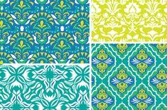 Botanica Isle Seamless Patterns by Cocoa Mint on Creative Market