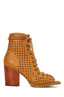 Shoe Cult Bowie Bootie  Brown  Shop Shoes at Nasty Gal