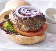 Paprika lamb burgers with aïoli