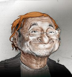 Lucio Dalla (Italian Musician) by Mattia Massolini Celebrity Caricatures, Art Studios, Vignettes, Famous People, Art Gallery, Cartoon, Comics, Celebrities, Studio Art