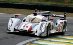 Front row of the grid for Audi and Lucas di Grassi in Brazil
