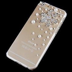 Cool Crystal Snow Pearl Cover Case for iPhone 6 / iPhone 6 Plus
