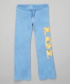 Love this Turquoise 'LOL' Sweatpants - Girls by Penelope Wildberry on #zulily! #zulilyfinds