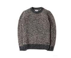 Dock Sweater Mixed Grey