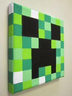 ... Paintings On Canvas, Minecraft