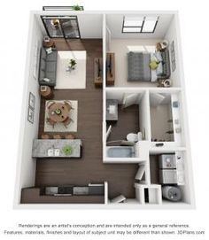 500 sq ft apartment google search house designs in - 1 bedroom basement apartment floor plans ...
