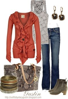 rust, created by stacy-gustin on Polyvore