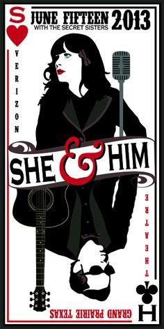 She & Him - Cory Jensen - 2013 ----