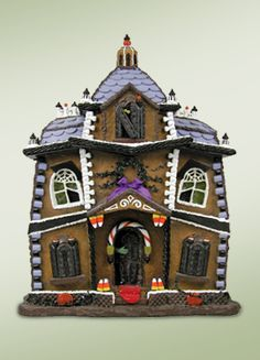 Ghostly Manor Gingerbread House