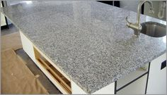 white pearl countertops | ... light gray looking for white gray countertops white cabinets