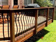 metal and wood ralings for decks - Verizon Search Results